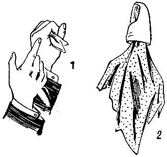 Фокусы с платком - Секреты фокусов 4